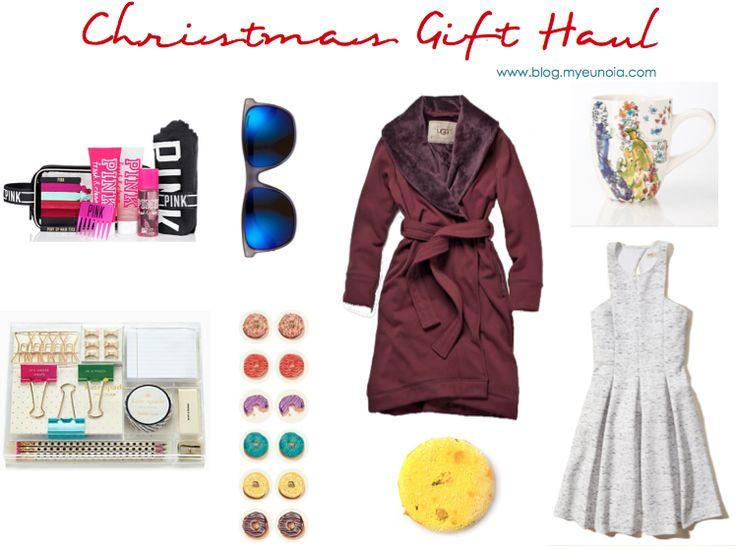 Christmas Gift Haul.   @My_Eunoia www.blog.myeunoia.com