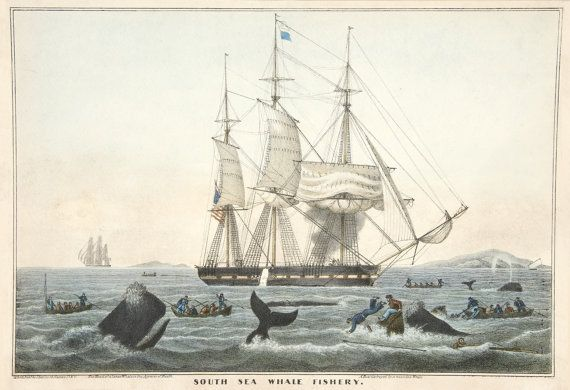 Images of American Whaling Art: The South Sea Whale Fishery