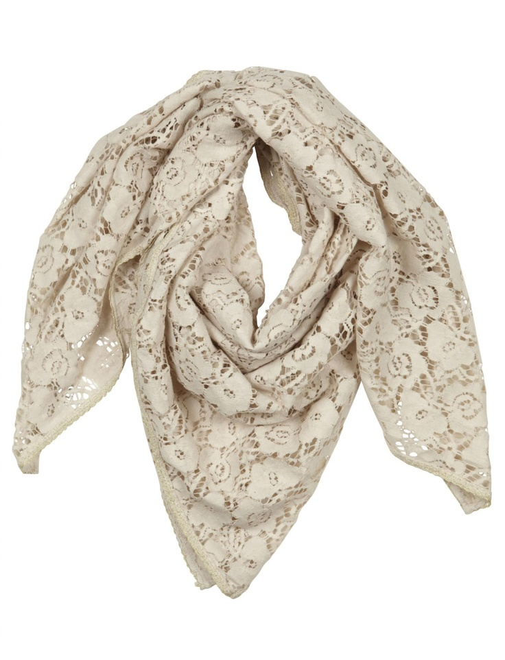 sweet holy softness, this is a lace scarf. please!: Lace Scarf