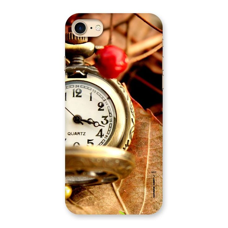 Cherry And Clock Back Case for iPhone 7 | Mobile Phone Covers & Cases in India Online at CoversCart.com