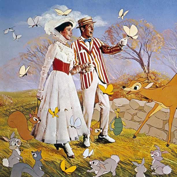 BEST  MARY POPPINS (1964)  If you honestly don't know why this is one of the best Disney movies ever made, get thee to your Netflix Queue. Or at least go fly a kite.