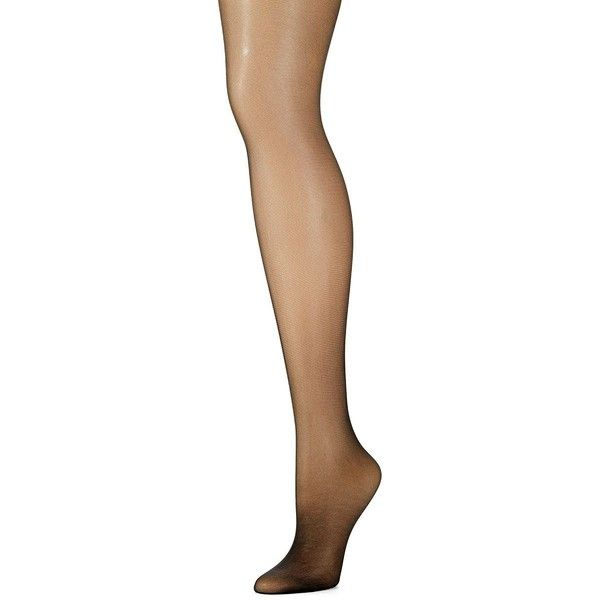Calvin Klein Sheer Panty Hose (€14) ❤ liked on Polyvore featuring intimates, hosiery, tights, black, shiny pantyhose, pantyhose hosiery, panty hose stockings, sheer hosiery and calvin klein