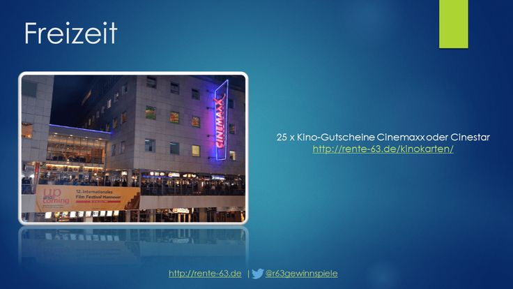3D Kino Gutschein http://rente-63.de/kinokarten/