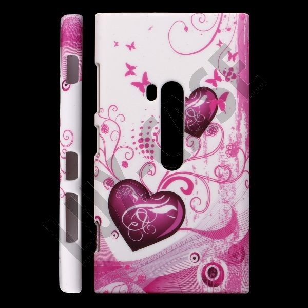 Valentine (Two Purple Hearts) Nokia Lumia 920 Deksel