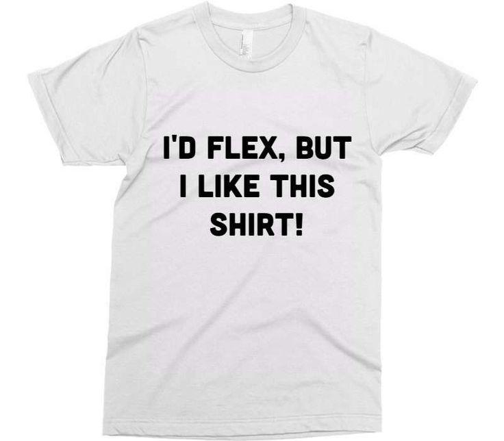 Mens Funny tshirt Husband Gift Boyfriend Gift Teen Boy Gift Id Flex But I Like This Shirt Boyfriend gift ideas Brother Gift t shirts for Men.
