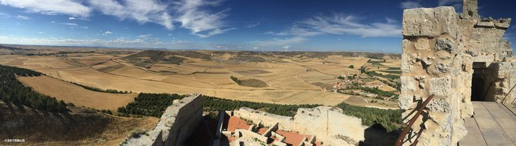 CF: Meseta view from mountain Castrojeriz