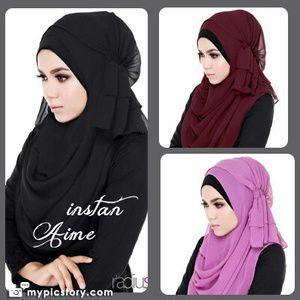 Aime hijab [headscarf Instant]