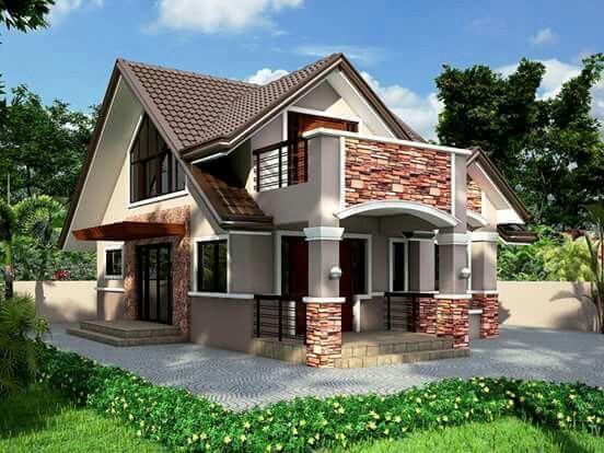 Casa marrón