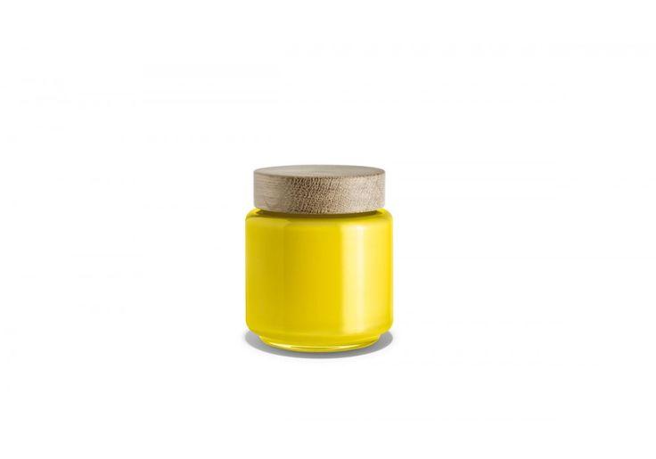 #Holmegaard Palet Aufbewahrungsglas, 0,35 l, Gelb