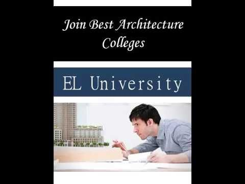 This Top Architecture Colleges promise many rewards and satisfaction. In order to Join Best Architecture Colleges, See more: http://www.eluniversity.co.za/faculties-art-design-architecture/
