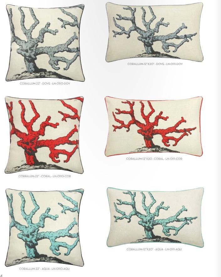 Thomas Paul red pillows