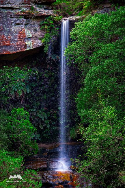 Centennial Glen Falls, Blue Mountains, NSW, Australia (1705) - Yegor Korzh :: Travel Photography