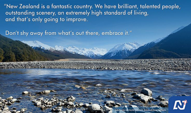 We're backing New Zealanders to make the most of what our country has to offer.