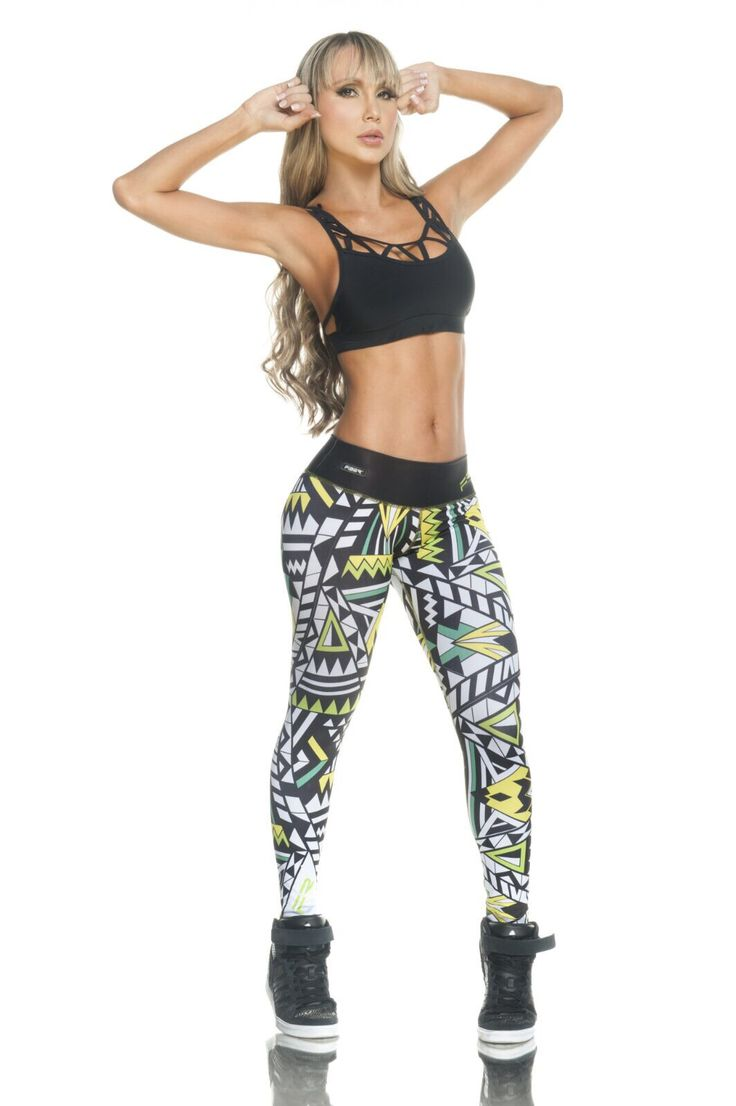 Colorful Print Leggings - 803 Check out these cool new leggings with a super colorful print. Made from extremely supportive material that gives a firming effect and makes the booty pop! The Brazilian version of SPANX! Approximate inseam for sizing is 24″ One size fits most in a S-M range