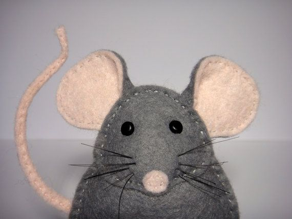 Easy To Sew Felt Pdf Pattern Diy Pablo The Mouse Finger