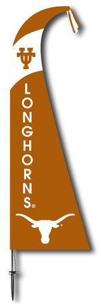 NCAA Texas Longhorns Feather Flag