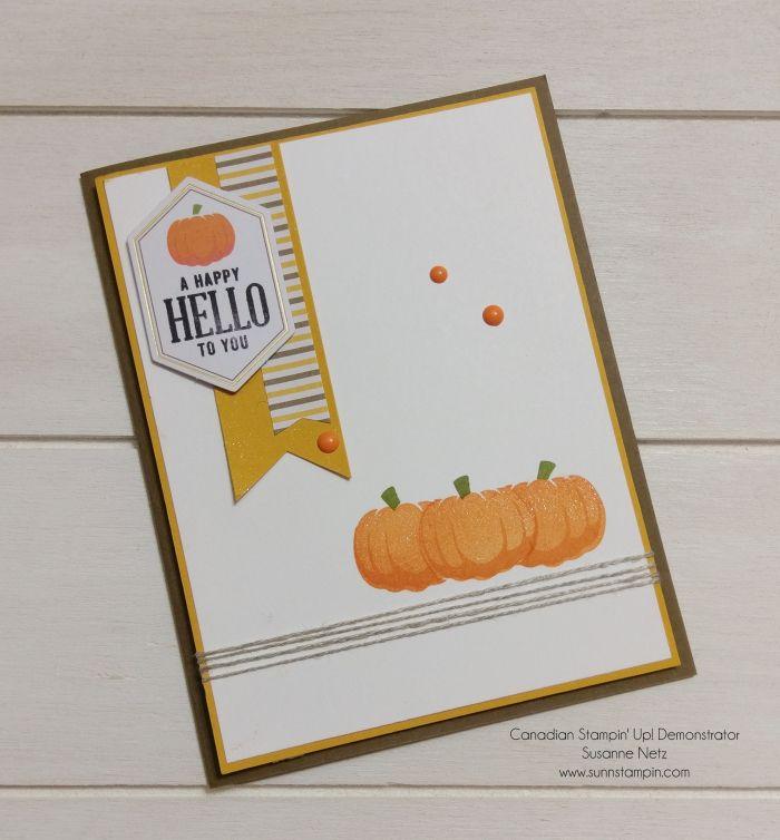 Paper Pumpkin Alternatives September 2016 https://youtu.be/6LQcnXzN0wg