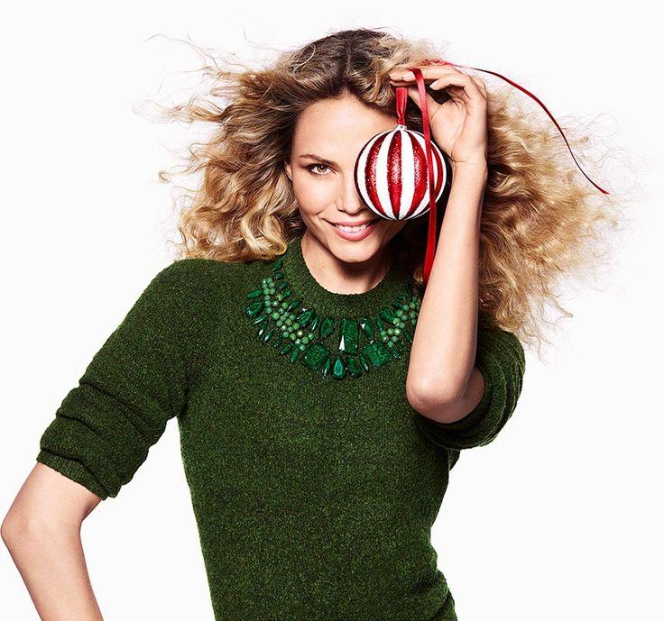 H&M Holiday 2015 : Natasha Poly & Jourdan Dunn by Daniel Jackson - the Fashion Spot