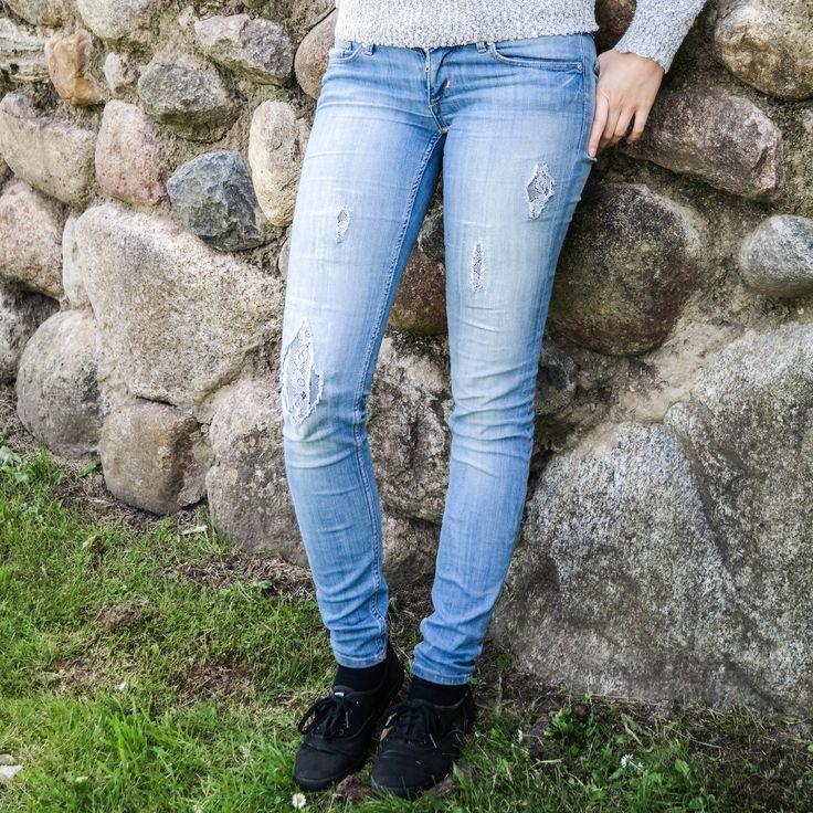 die besten 25 diy destroyed jeans ideen auf pinterest beste jeans fischernetz srumpfhose und. Black Bedroom Furniture Sets. Home Design Ideas