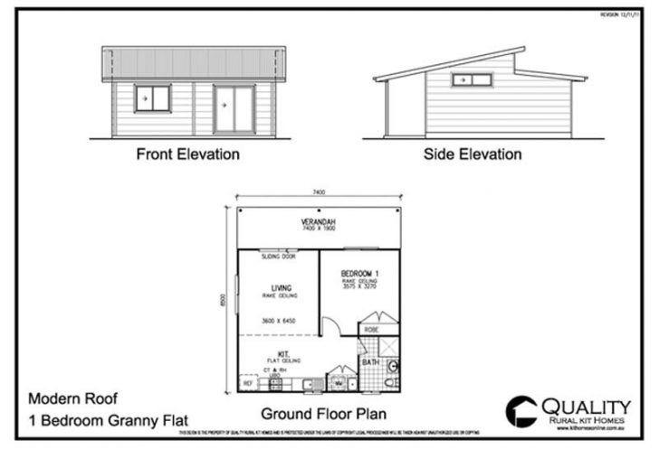 Elegant 1 Bedroom Bungalow House Plans 1 Bedroom House Plans