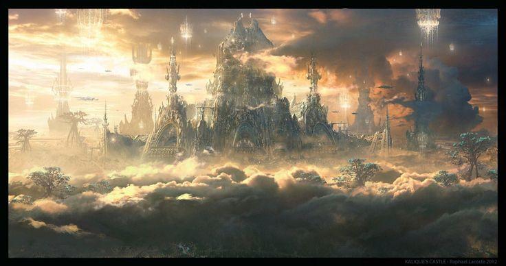 Jupiter Ascending Castle , Raphael Lacoste on ArtStation at https://www.artstation.com/artwork/jupiter-ascending-castle