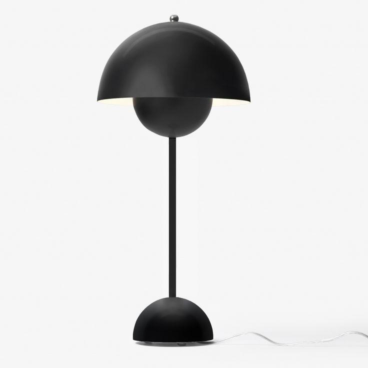 Flowerpot Table Lamp - VP3 - Matt Black
