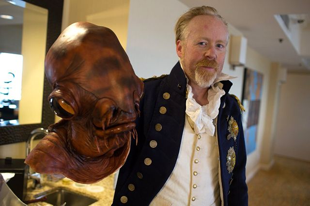 Adam Savage Went Incognito at Comic-Con Dressed in a Regal Admiral Ackbar Costume