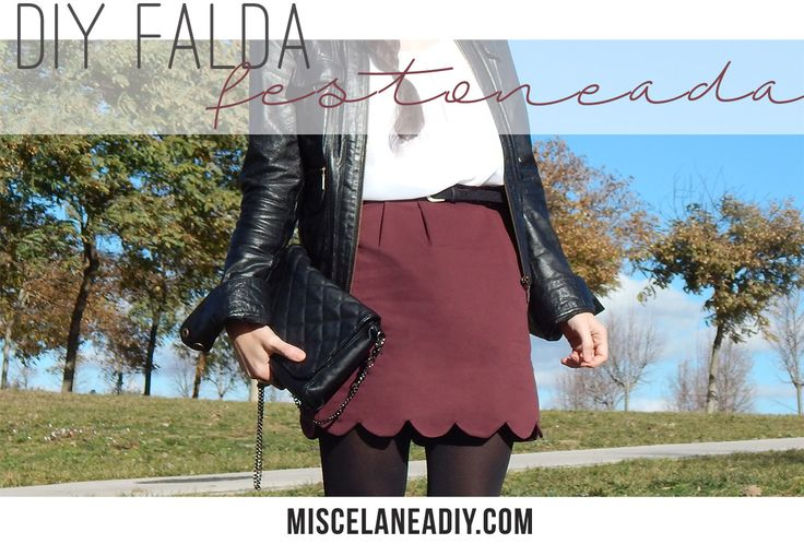 DIY Sewing | Falda Festoneada | Scalloped Skirt