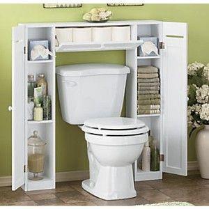 Be Creative in Small Bathroom by Applying Bathroom Spacesaver Cabinet