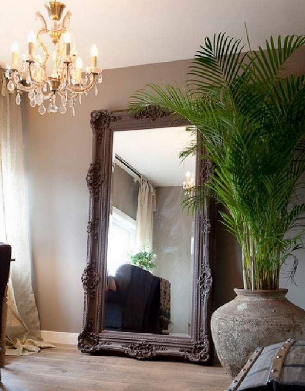 12 ideas para decorar con espejos grandes decoraciones - Espejos de decoracion ...