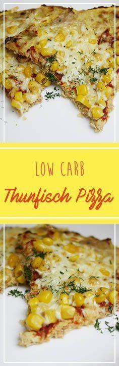 Low Carb Thunfisch Pizza Lust auf Pizza? So ganz ohne Fett und massig Kalorien? Dann habe ich hier das perfekte Rezept für Euch! Damit könnt ihr ruhigen Gewissens schlemmen und euren Muskeln sogar noch eine ordentliche Portion Proteine verabreichen. Die Pizza ist somit auch ein super Mahl für Sportler und enthält wenige Kalorien, da sie nur aus gesunden Zutaten besteht, die auch noch lange satt halten. Also viel Spaß dabei :)