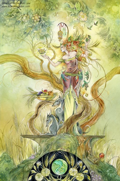 Virgo: The Virgin  The harvester, gatherer. Organized and detail-oriented. Aware of the group around them and the need to bring them together. Likes to work with hands.