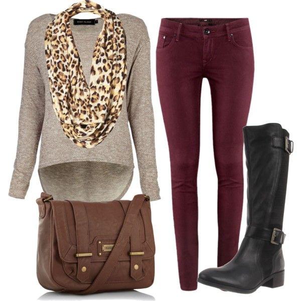 Love the wine color pants! This too!! @StyleSpaceandStuff.Blogspot.com Quinones @Bailey Francine Francine P