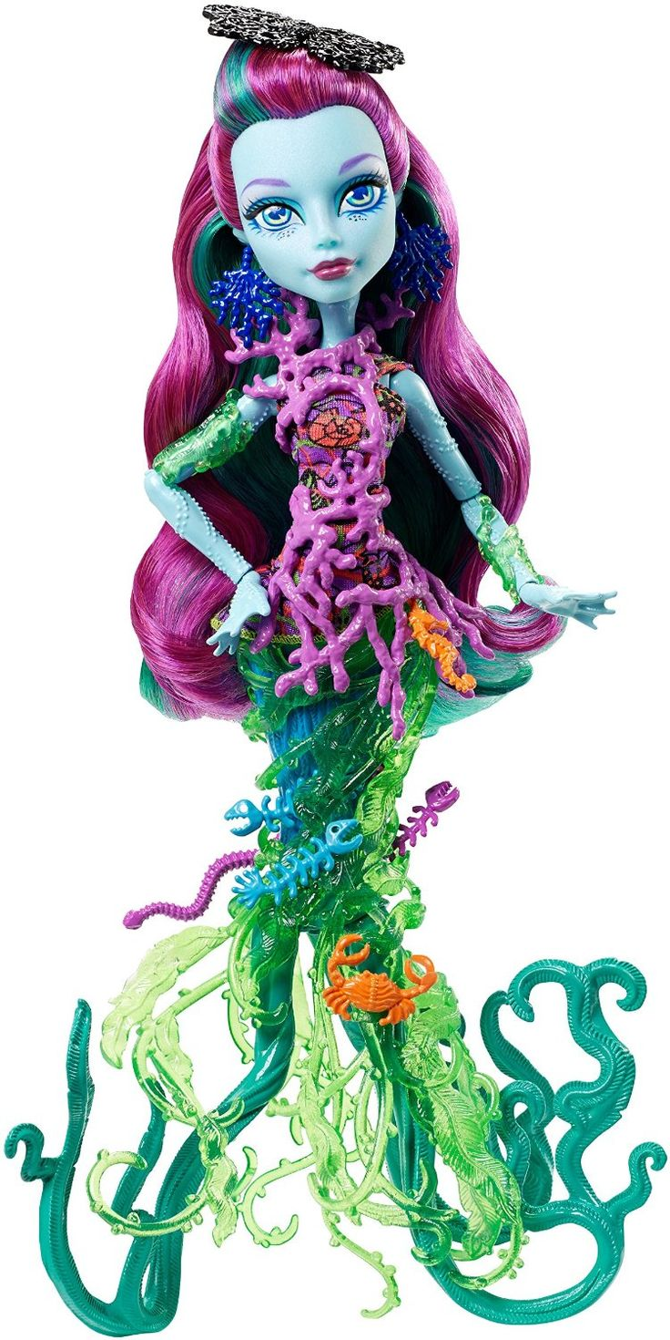 Posea Reef Great Scarrier Reef Monster High Doll, 2015 my number                       1 birthday wish