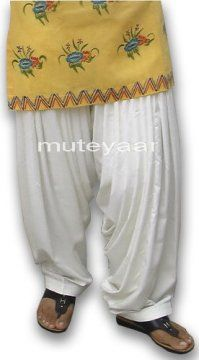 Patiala Salwar Ready to Wear - direct from Patiala City !!