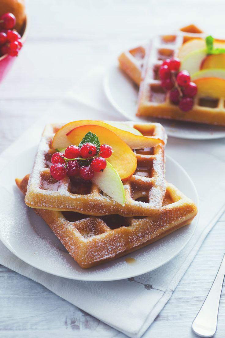 Waffle: soffici e profumati. Un confort food con i fiocchi, da arricchire con quello che più ti piace!