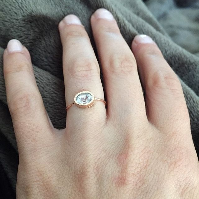 I got this as an engagement ring and absolutely love it. It is beautifully made and so unique.