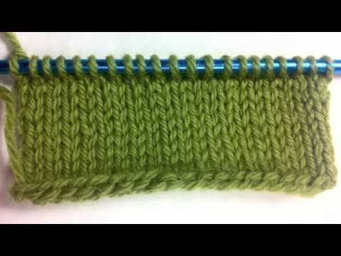 How to Knit Left handed: The Single Cast On