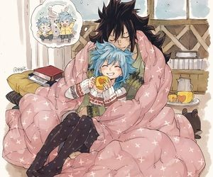 fairy tail, anime couple and gale image on We Heart It