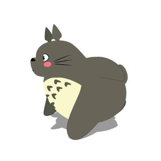 Faites vos exercices de gym en Gifs avec Totoro