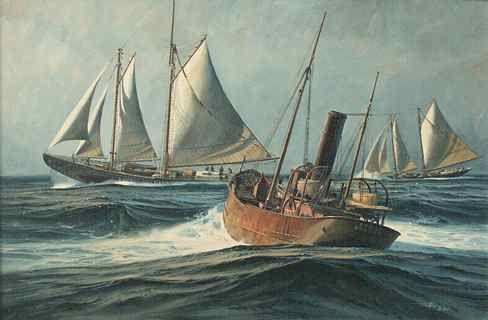 Fishing on the Grand Banks: The Marine Art of Thomas Hoyne