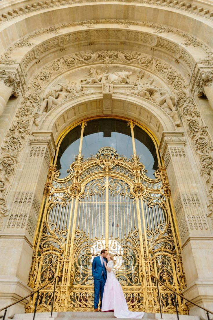 Intimate Paris Destination Wedding