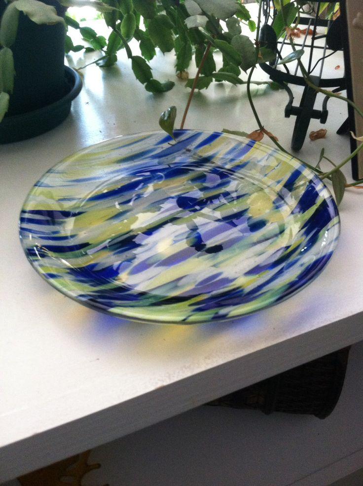 Best fruit fused glass bowl images on pinterest free