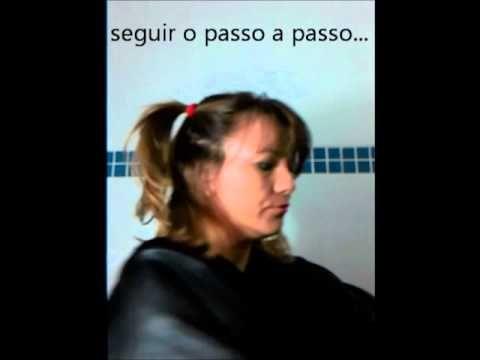 Corte de cabelo repicado em casa. - YouTube