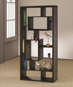 Asymmetrical Cube Black Book Case with . NFM
