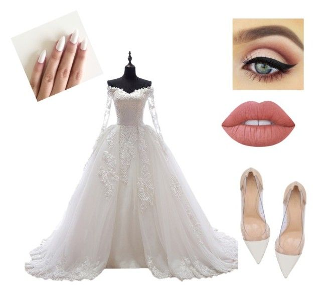 """"""""""" by martyna-janas on Polyvore featuring moda, Gianvito Rossi i Lime Crime"""
