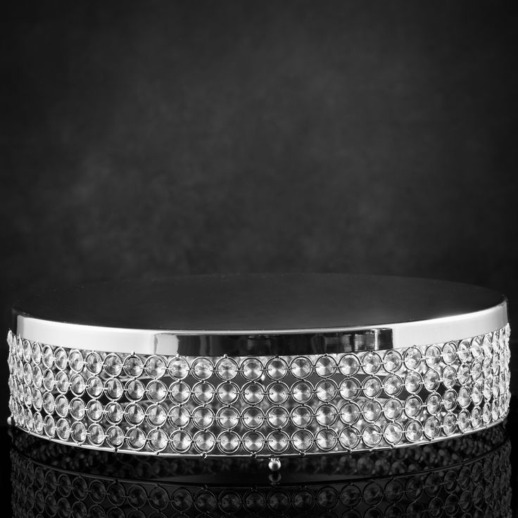 18 in.Crystal Cake Stand