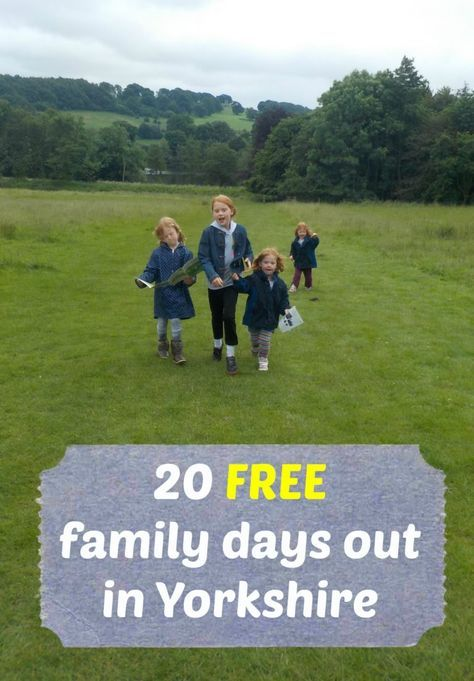 20 Free family days out in Yorkshire - get inspiration for FREE / low cost family days out in Yorkshire. Just in time for the school holidays.     Featuring Yorkshire Sculpture Park, the National Media Museum, The Royal Armouries, Brimham Rocks, Humber Bridge Country Park, and more.     Family days out in West Yorkshire, East Yorkshire, South Yorkshire, and North Yorkshire, including in Leeds, Hull, York, Bradford, Harrogate, and Sheffield.