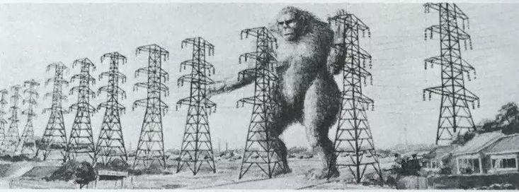 King Kong vs Godzilla (1962) concept art