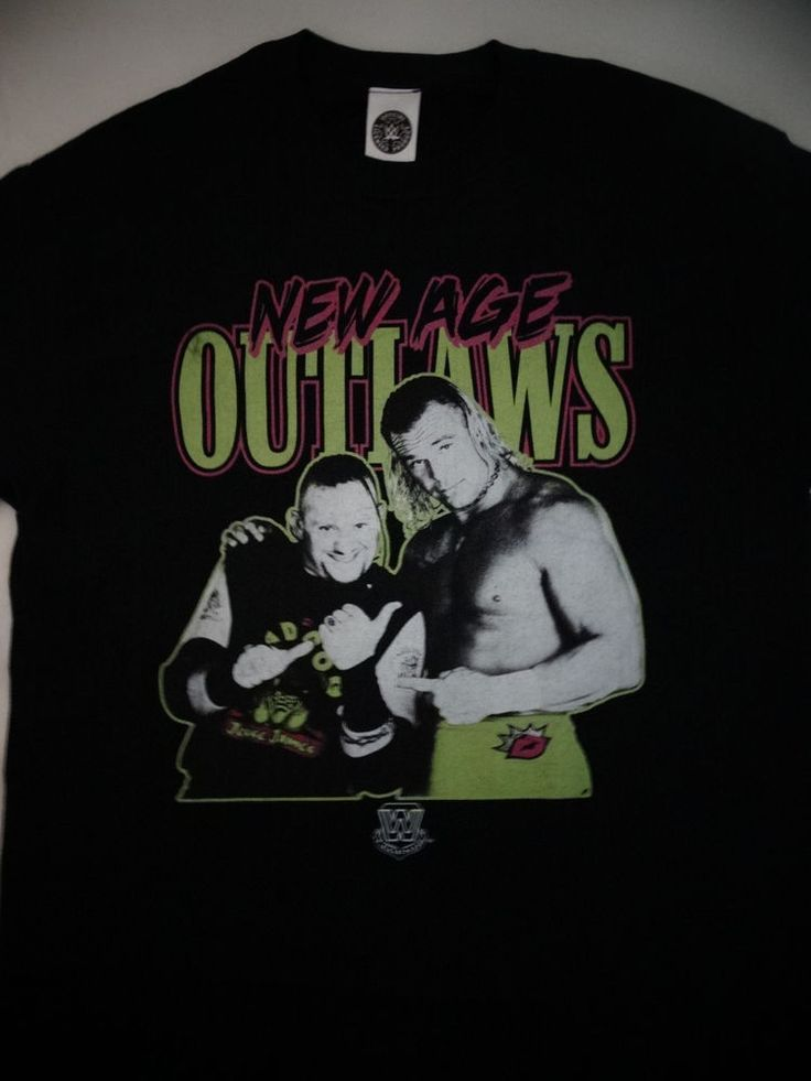 New Age Outlaws BG James Road Dogg Billy Gunn DX Wrestling WWE T-Shirt #WWE #GraphicTee